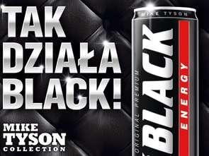Mike Tyson wspiera Black Energy Drink