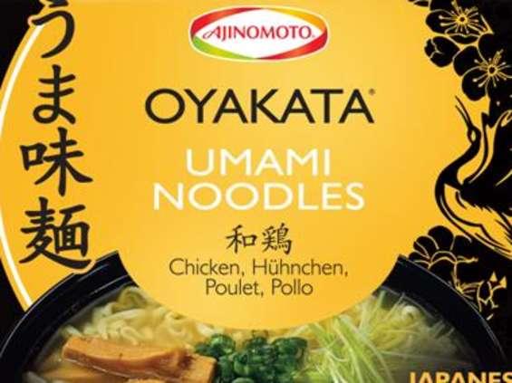 Ajinomoto Poland. Oyakata Umami Noodles