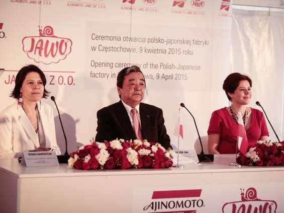 Nowa inwestycja spółki Jawo i Ajinomoto