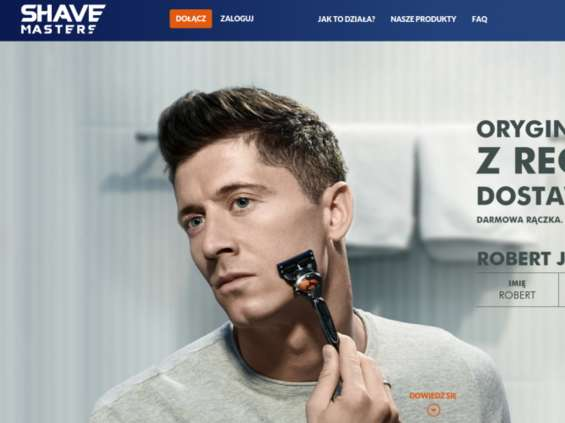 P&G sprzedaje produkty Gillette w modelu subskrypcji z dostawądo domu