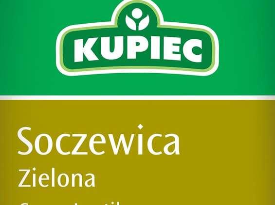 Kupiec. Soczewica zielona