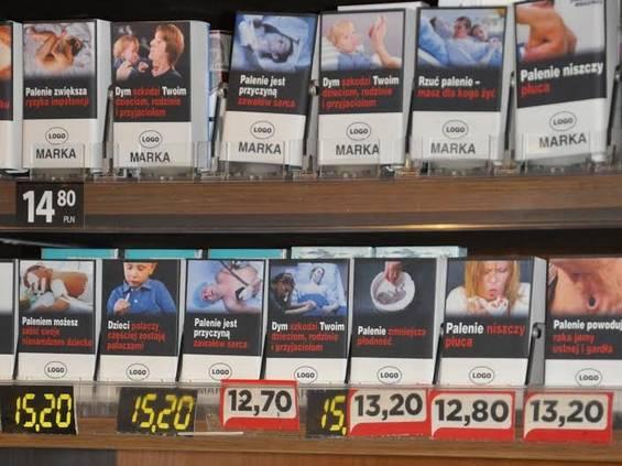 Kolejne obostrzenia dla producentów papierosów