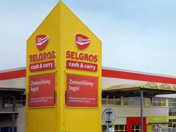 Trzeci Selgros w Warszawie już na ukończeniu