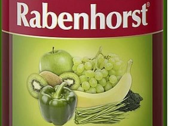 Victualia Saluber. Zielone smoothie z papryką i spiruliną Rabenhorst