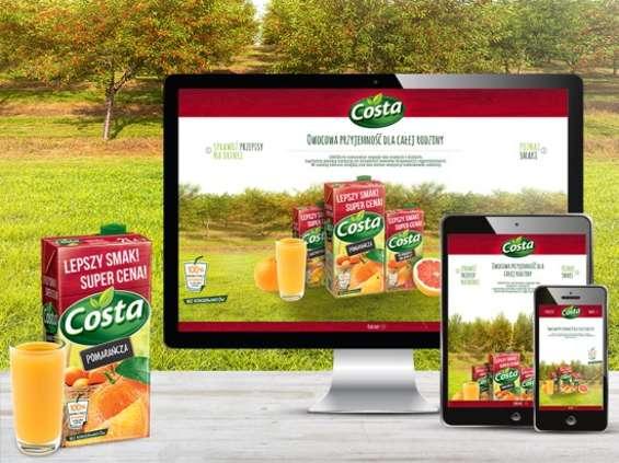Hortex podkreśla nowe pozycjonowanie marki Costa
