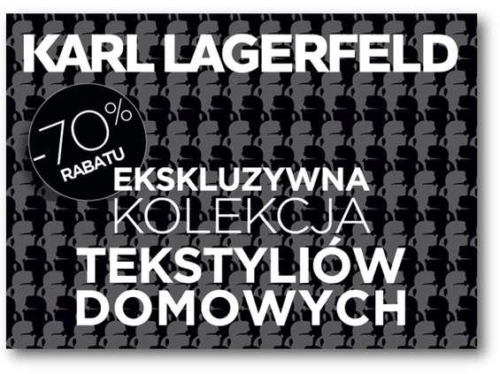 Kolekcja od Karla Lagerfelda w Carrefourze
