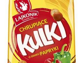 Lajkonik Snacks. Chrupiące Kulki