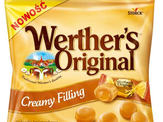 Storck. Werther's Original Creamy Filling