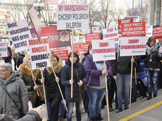 Sprzedaż alkoholu: Kolejny protest w Warszawie