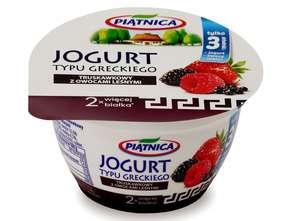 OSM Piątnica. Jogurty typu greckiego