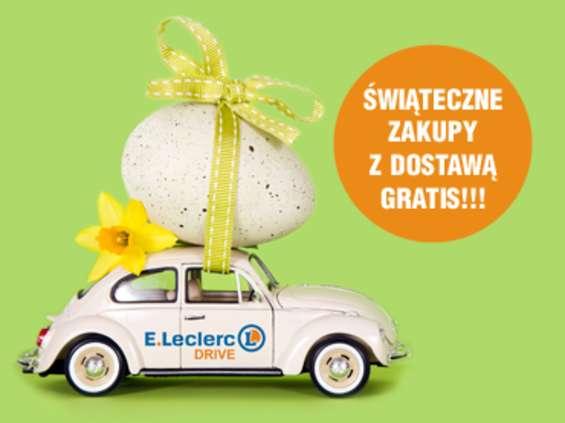 Bezpłatna dostawa zakupów w E. Leclerc przed Wielkanocą