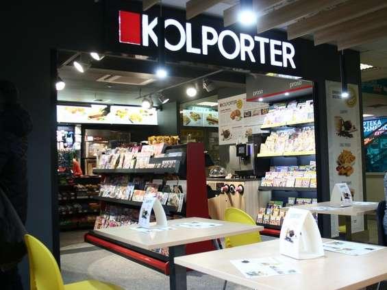 Salony ze strefą bistro w Kolporterze