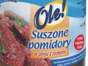 Okechamp. Suszone pomidory w oleju z ziołami Ole!