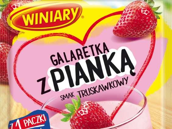 Nestle Polska. Galaretka z pianką Winiary