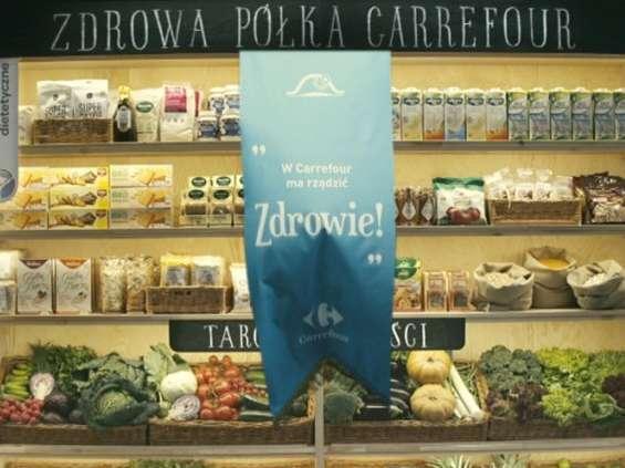 Carrefour stawia na zdrowie