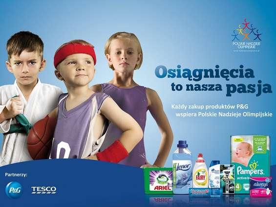 Procter & Gamble i Tesco wspierają młodych sportowców