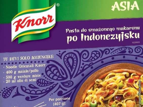 Unilever Polska. Knorr Asia