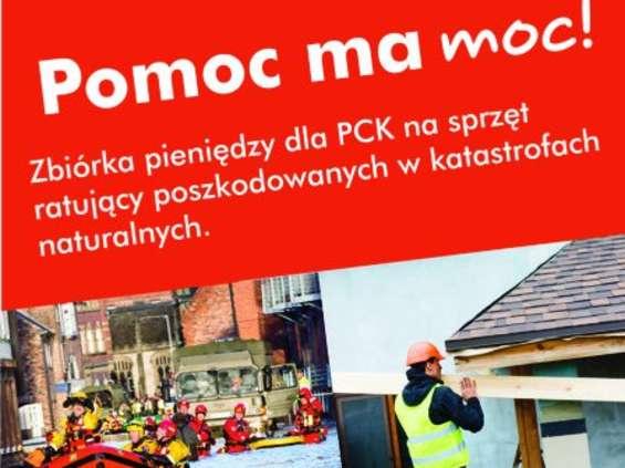 Castorama wspiera Polski Czerwony Krzyż