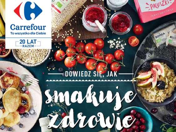 Zdrowa półka w Carrefourze