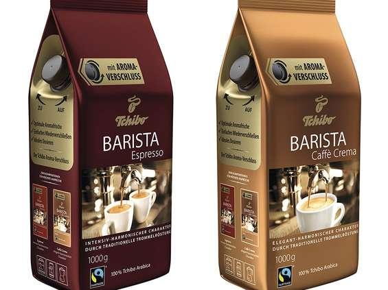 Tchibo Warszawa. Barista Espresso i Barista Caffe Crema
