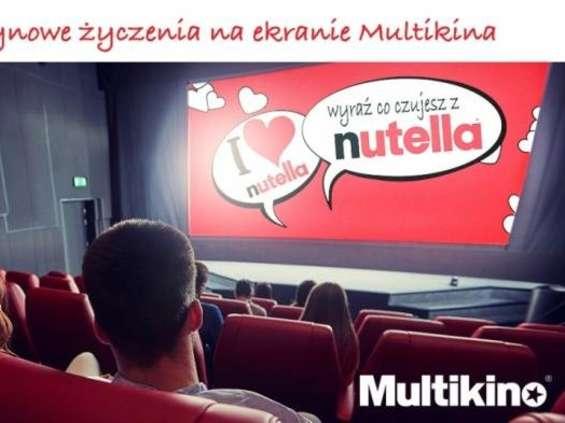Sieć kin Multikino i Nutella we wspólnej akcji