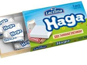 Lactima. Serek twarogowy śmietankowy Haga