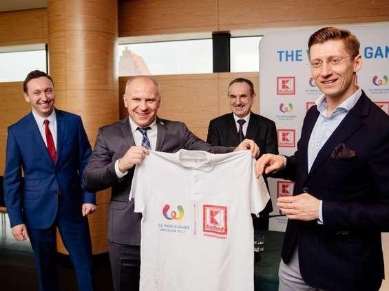 Kaufland głównym sponsorem The World Games Wrocław 2017