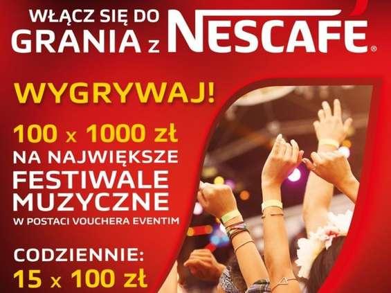 Włącz się do grania z Nescafe