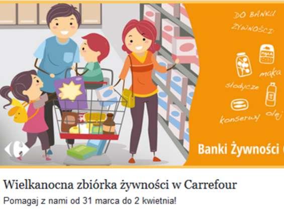 Wielkanocna Zbiórka Żywności w Carrefour