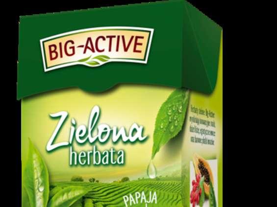 Herbapol-Lublin. Zielone herbaty Big-Active