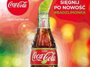 Coca-Cola wprowadza na rynek Coca-Colę Lime