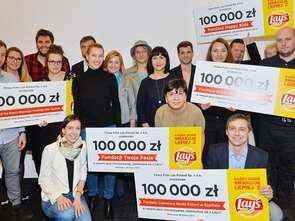 Lay's przekazał 0,5 mln zł fundacjom charytatywnym
