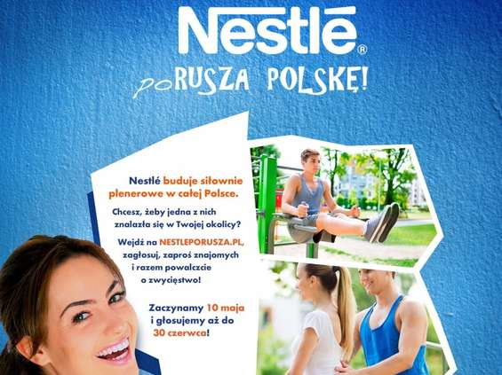 Nestlé porusza Polskę