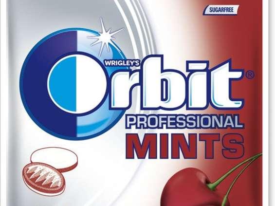 Wrigley Poland. Orbit Professional Mints XXL Cherry