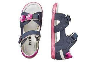 Atestowane sandały dla dzieci w Lidlu