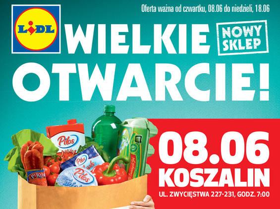 Kolejny Lidl na mapie Polski