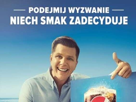 Filip Chajzer abasadorem akcji Wyzwanie Smaku Pepsi