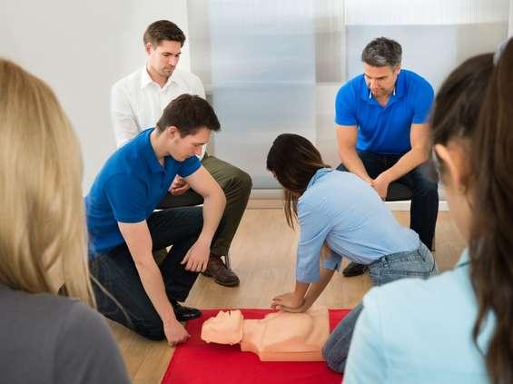 Pracownicy Lidla przeszkoleni z pierwszej pomocy