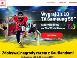 W Kauflandzie do wygrania bilety na The World Games 2017