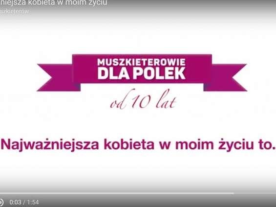 Muszkieterowie zachęcają Polki do badania