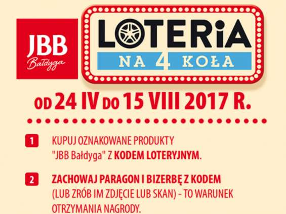 JBB. Loteria na 4 Koła