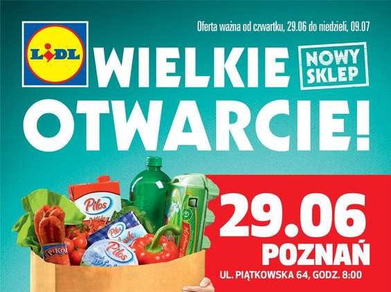 20. Lidl w Poznaniu