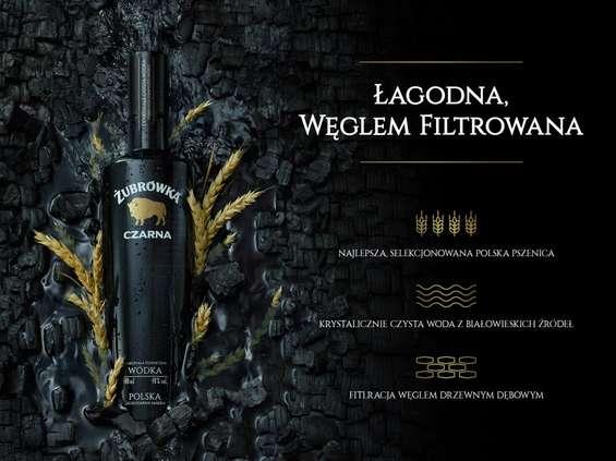 Żubrówka Czarna z nową komunikacją marki