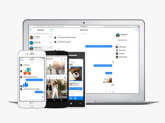 Reklamy w aplikacji Messenger
