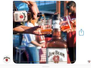Jim Beam (Ro) Bot serwuje drinki na Facebooku