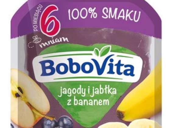 Nutricia. Musy owocowe BoboVita