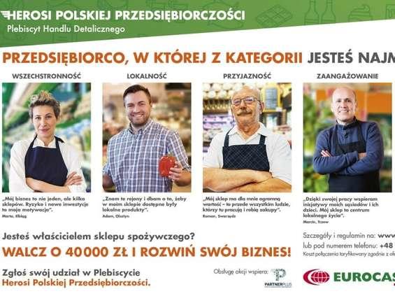 Eurocash szuka Herosów Polskiej Przedsiębiorczości