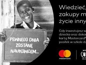 Mastercard funduje posiłki dla uczniów w Rwandzie