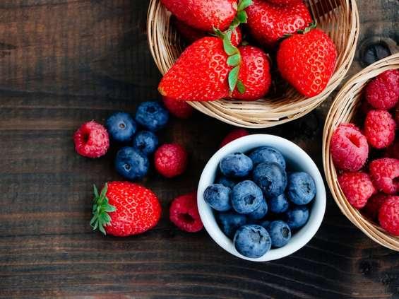 Owoce miękkie w szczycie sezonu