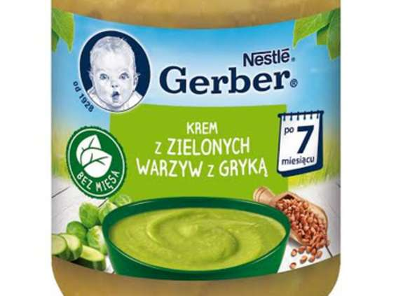 Nestle Polska. Nowe dania Gerber